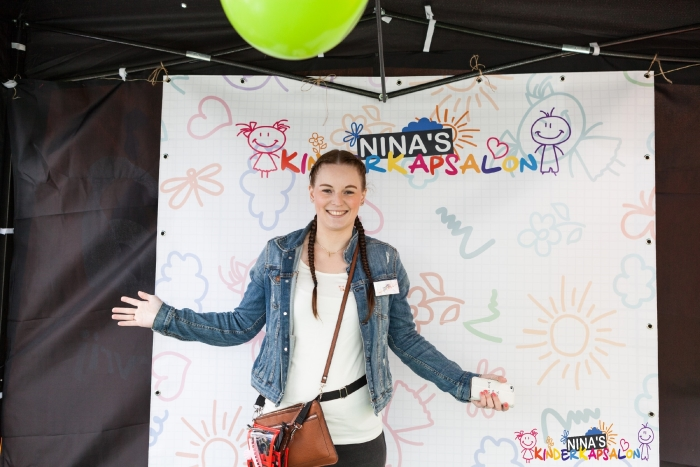 Nina Verbaan van Nina's Kinderkapsalon