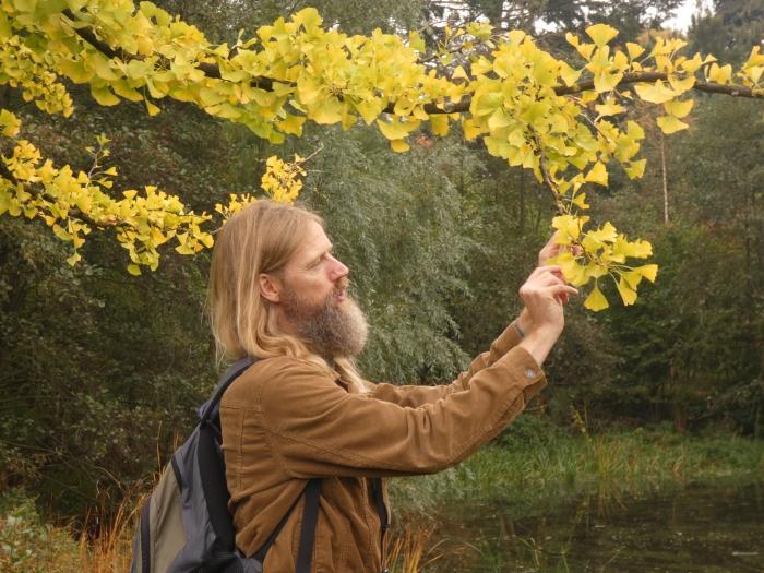 Abe vertelt over bomen Jasmijn Berkers © BDU media