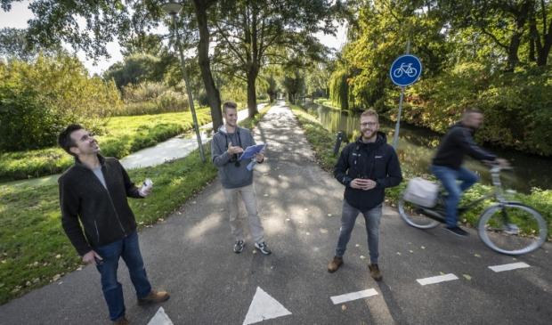 <p>Tim Breur, Nieck Alderliesten en Albert de Jong</p>