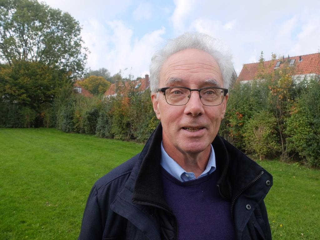 <p>Jan Sitvast: &quot;Het is een verrijking van de buurt en iedereen mag natuurlijk meedoen.&quot;</p> Frans Sitvast © BDU media