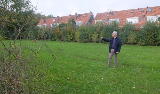 <p>Jan zou graag op dit veld een buurtmoestuin aanleggen. </p>