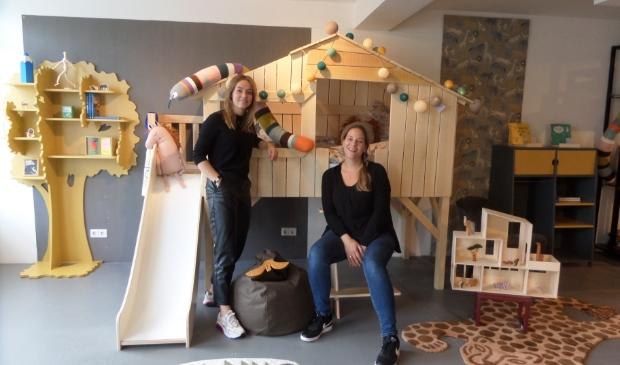 <p>Noa Brand en Jos&eacute; &nbsp;Bontenbal van kinderwinkel Kids Architects helpen kinderen graag bij het ontwerpen van hun eigen droomkamer.</p>