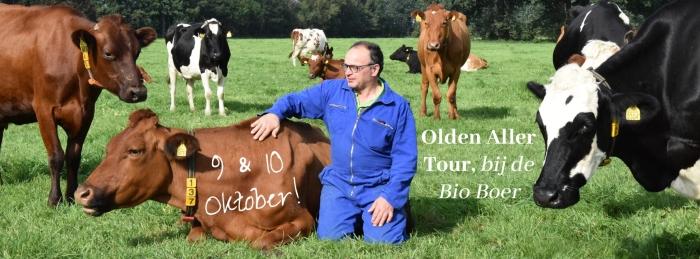 Aart van de beek verwelkomt jullie graag op de boerderij Tilly van de Beek © BDU media