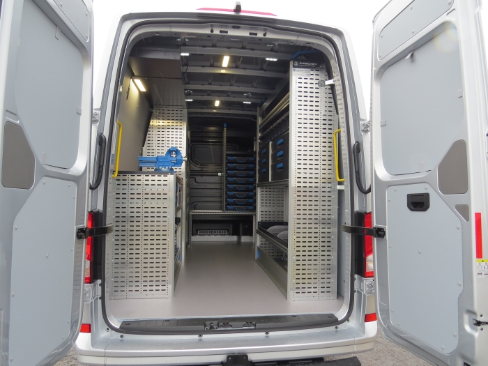 De inrichting van Carplus Bedrijfswageninrichting Ronald de Boer © BDU Media