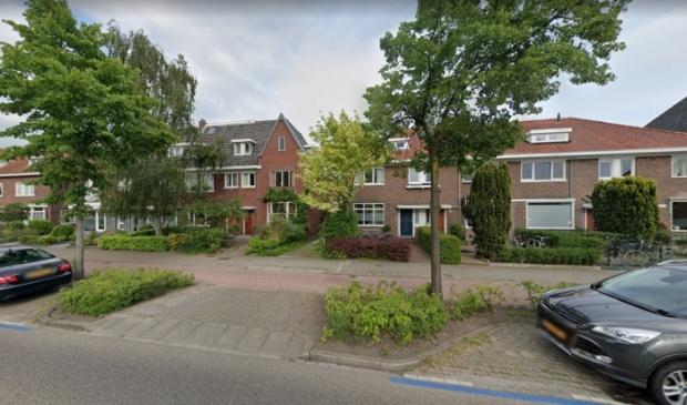 <p>De huizen waarachter de opgekochte garageboxen staan.</p>