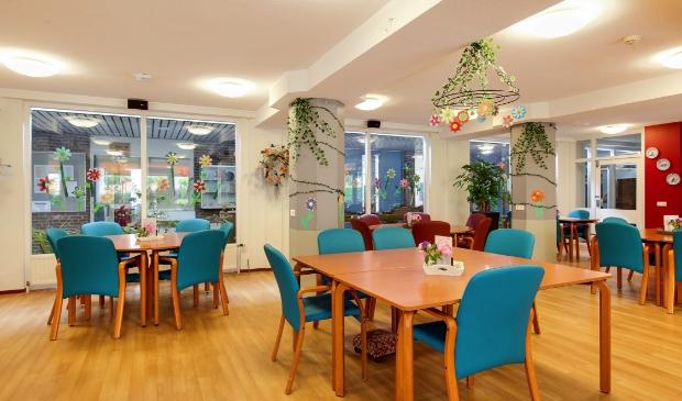 De activiteitenruimte staat weer leeg bij woonzorgcentrum Bunninchem