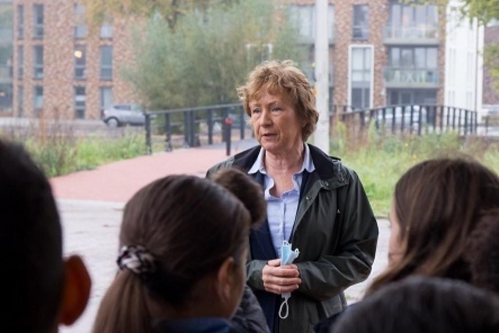 Groep 8 van de A. Bekemaschool. Gemeente Ouder-Amstel © BDU media