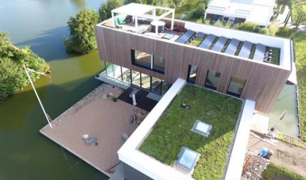 <p>Een van de genomineerde huizen, een vrijstaande woning uit 2020</p>