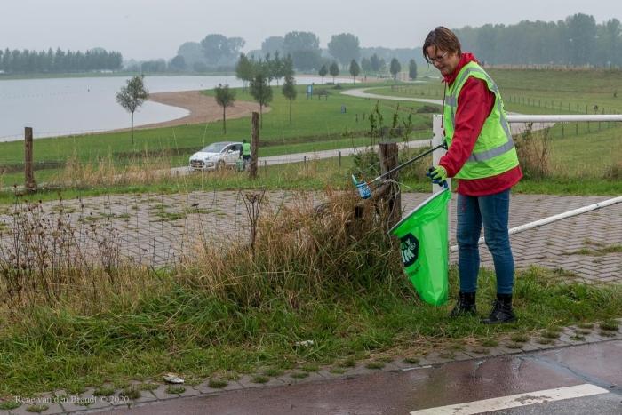 Schone Lek opschoonactie René van den Brandt © BDU media