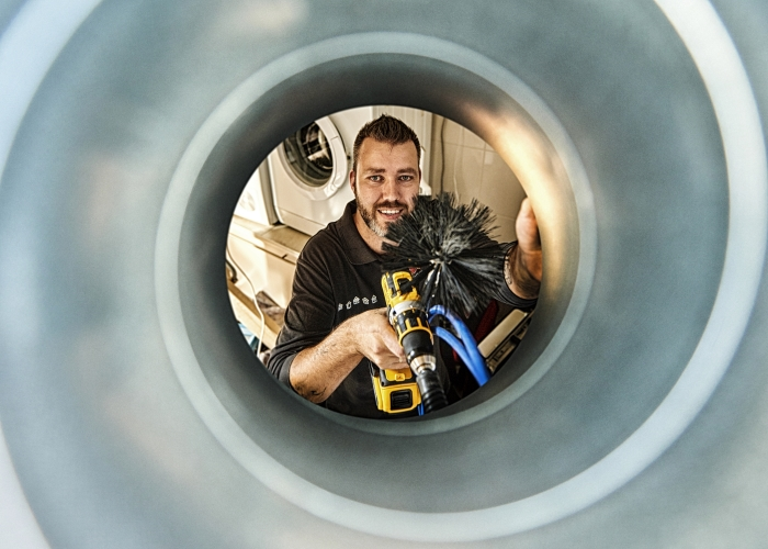Ventilatiekanaal reinigen Feenstra © BDU media