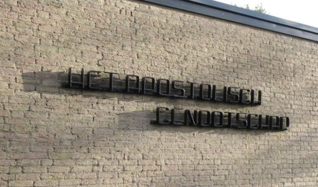 <p>Het gebouw van het Apostolisch Genootschap Haarlemmermeer.</p>