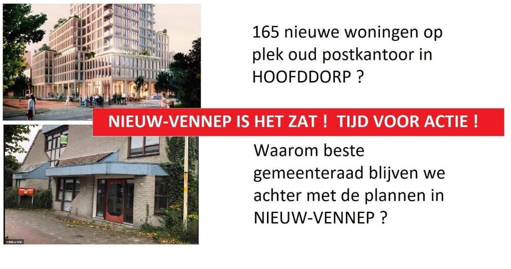 <p>Dit door inwoners verspreidde beeld geeft de sfeer in Nieuw-Vennep goed weer.</p> Eigen foto © BDU media