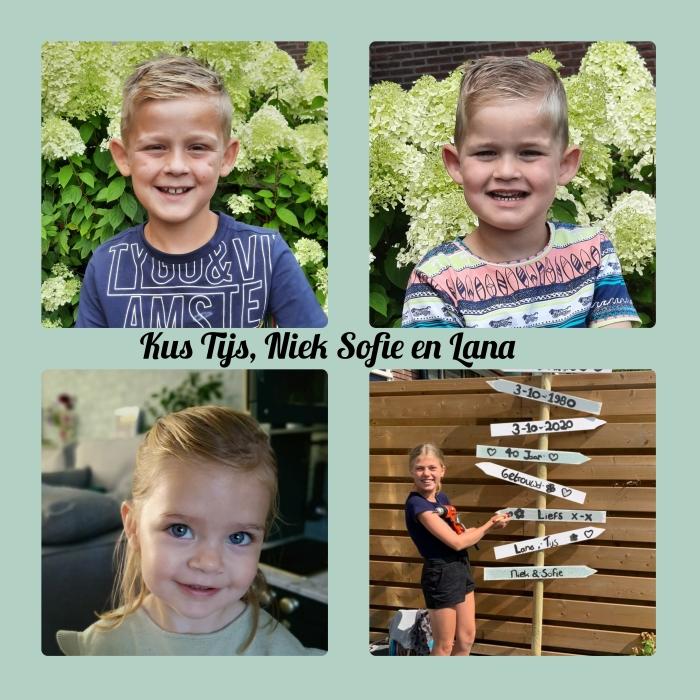 Vier kleinkinderen L. Versluis © BDU Media