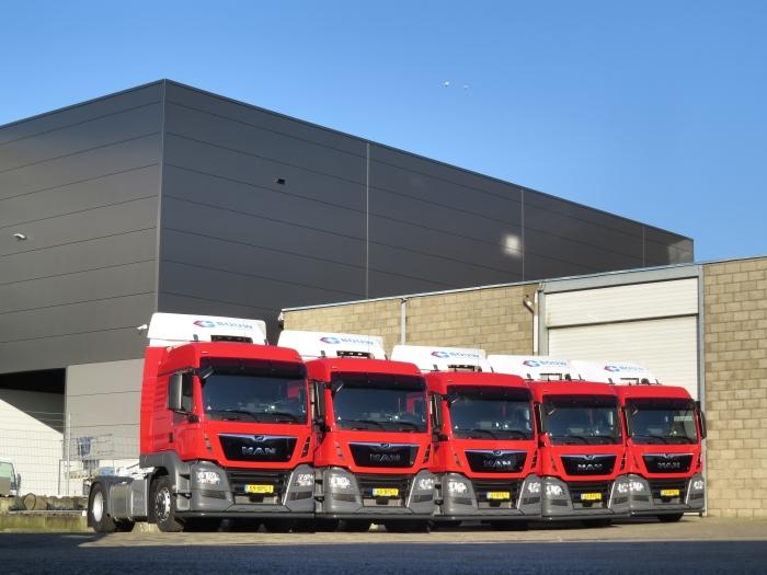 Vijf van de tien afgeleverde trucks