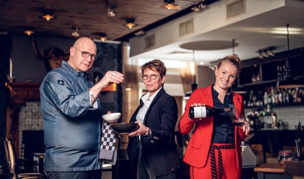 Theo en Jolanda Heetmayer met dochter Marjolein. Buitenlust © BDU media