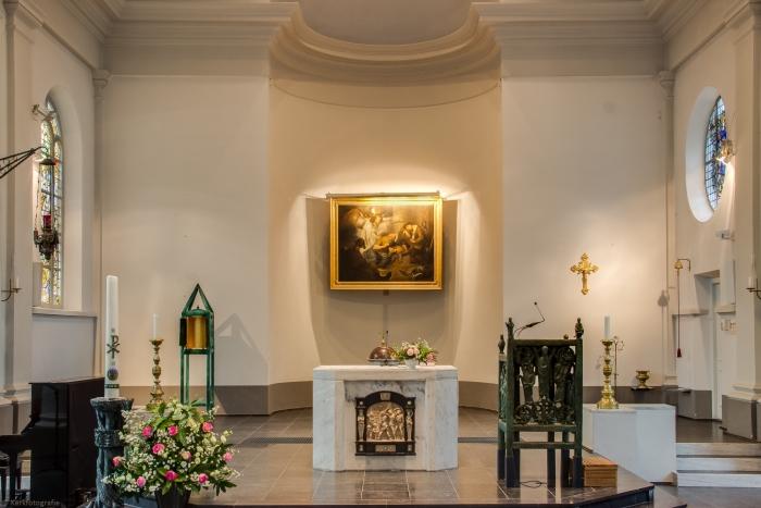 interieur Sint Petrus'banden Driebergen