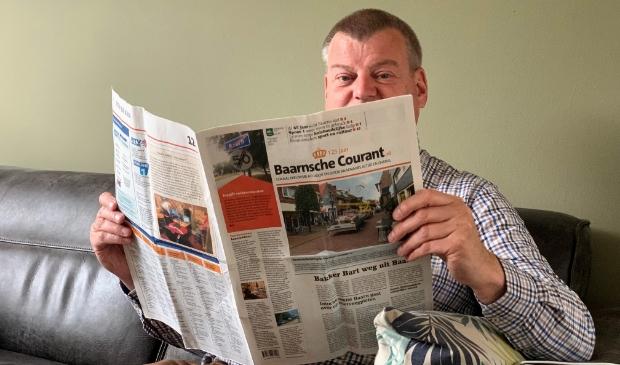 <p>Peter Bakker is verknocht aan de Baarnsche Courant.</p>