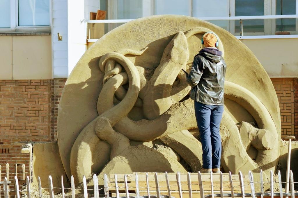 <p>Een van de sculpturen tijdens eerdere edities.</p> <p>Joop Touw</p> © BDU media