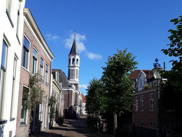 Langegracht Amersfoort, met de Elleboogkerk en dagbesteding De Elleboog.