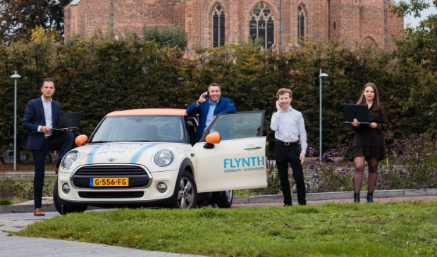 <p>Bedrijfsadviseurs van Flynth Andr&eacute; Beumer, Jarco Hordijk, Bas Overeem en Anuszka Aydin-Kopec.</p>