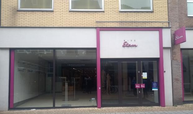 De lege winkel van Miss Etam