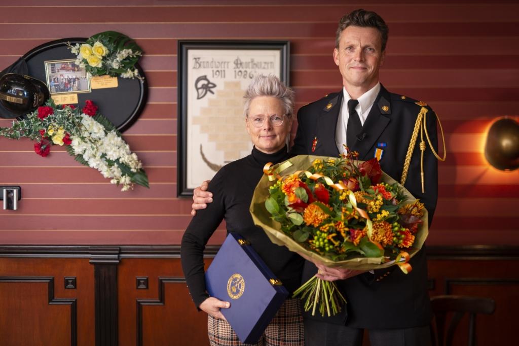<p>Hans van de Kamp&nbsp; met zijn vrouw.</p> <p>Pauw Media</p> © BDU media