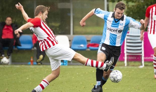 <p>FC Driebergen spits Jesse Mantel speelde een puike wedstrijd en stond met gave treffers en een assist aan de basis van de uiteindelijke ruime 7-0 overwinning.&nbsp;</p>