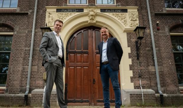 <p><em>Timo Kruft, eigenaar van TeKa Groep en Dirk Lubbers, bestuurslid van Stichting World Food Center Experience.</em></p>