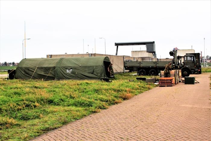 Militairen Hans Blomvliet © BDU media