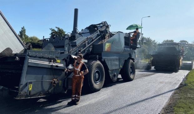 Groot onderhoud N229 tussen Werkhoven en Cothen
