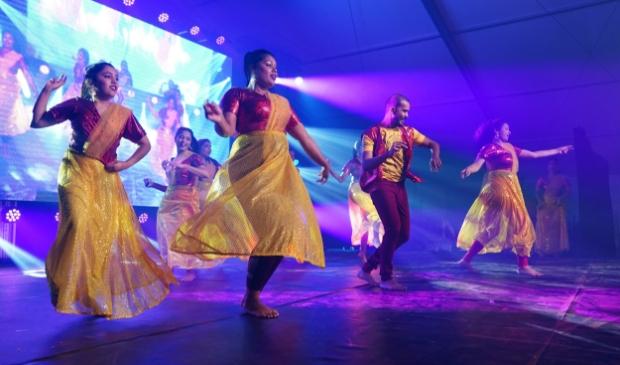 Een van de optredens tijdens het Diwali Festival van vorig jaar.