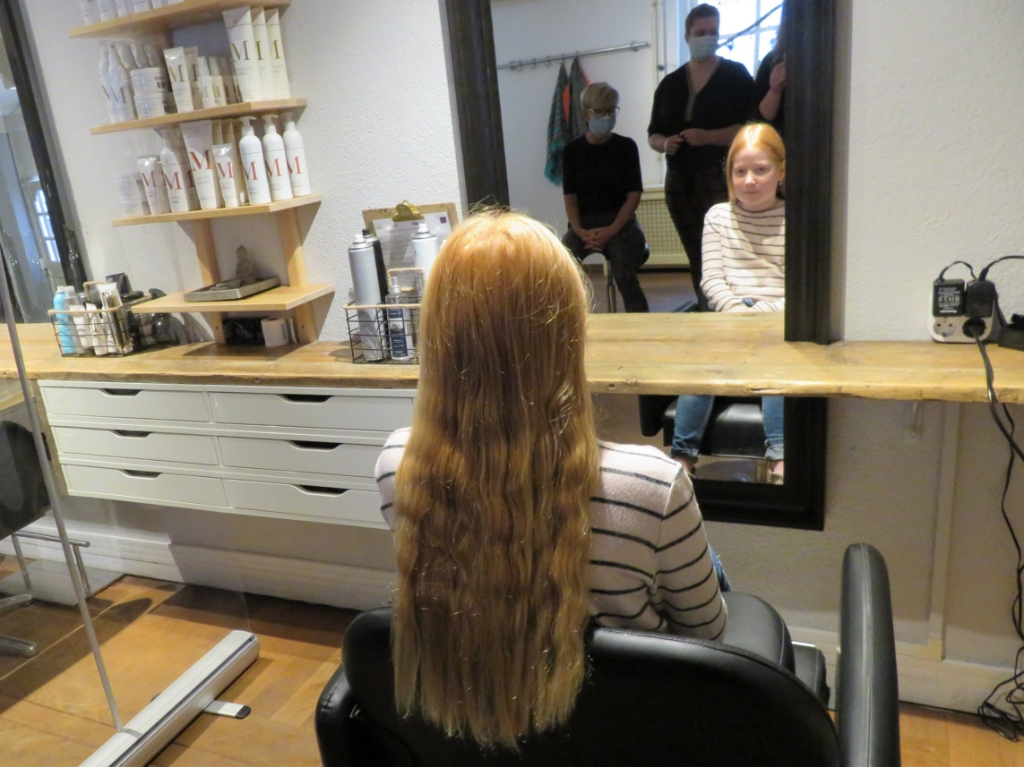 Isis met haar lange haar. Jan Wieman © BDU media