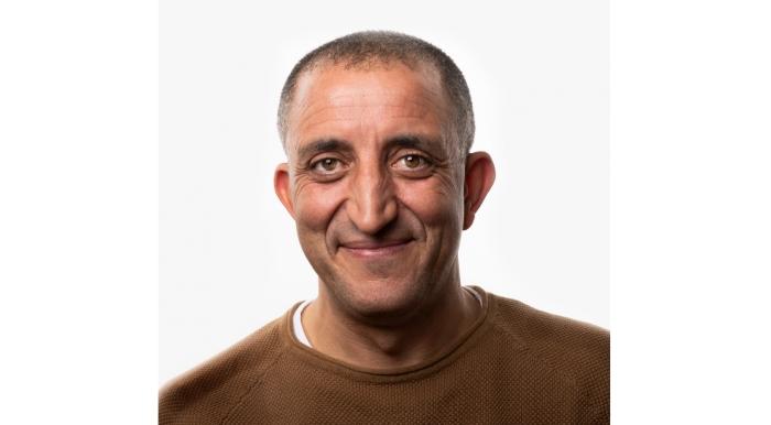 Portret van Allal Ennahachi. GroenLinks Baarn © BDU media