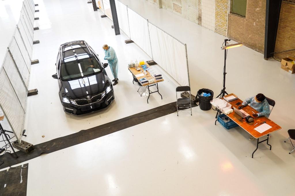 <p>Zo ziet de teststraat er uit.</p> <p>Christiaan de Groot</p> © BDU media