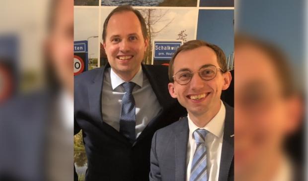 <p>Pascal Ooms en Wouter van den Berg</p>