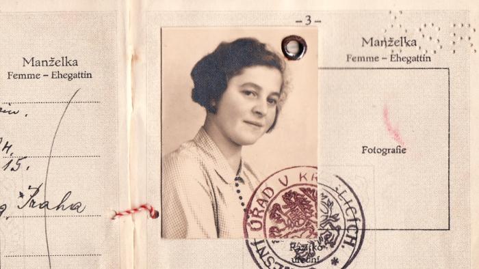 Screenshot Paspoort Marketa Lederova