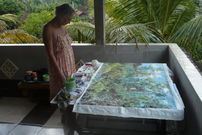 schilderij Bali