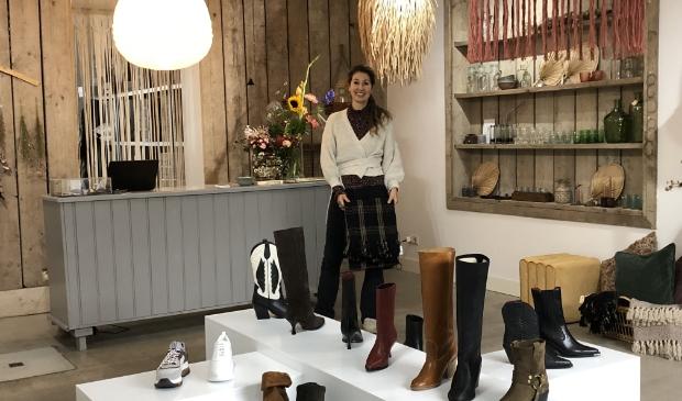 Lizzy Verdegaal hoopt dat mensen uit de hele regio haar leuke winkel komen ontdekken.