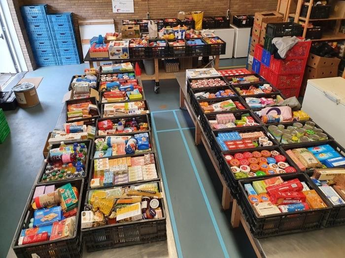 Inzameling bij de Voedselbank