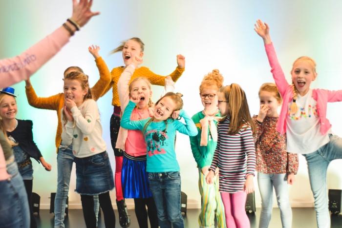 Tijdens een Zingen&Zo groepsles