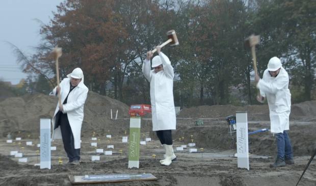<p>Het symbolische startsein was voor de toekomstige bewoners te volgen via een livestream.&nbsp;</p>