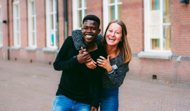 Een succesvol gematcht buddykoppel in Breda. Buddy to Buddy is een landelijk initiatief en Amersfoort is de 8e stad waar Buddy to Buddy van start gaat.