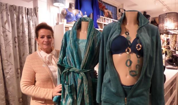 <p>Nancy ten Brink van lingeriezaak Nencies hoopt met Black Friday dat er meer mensen naar het centrum komen om te winkelen.&nbsp;</p>