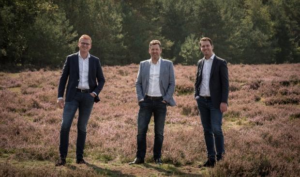 <p>Jan Snel (links), Wim Zwerus en Frank van Veldhuizen.</p>