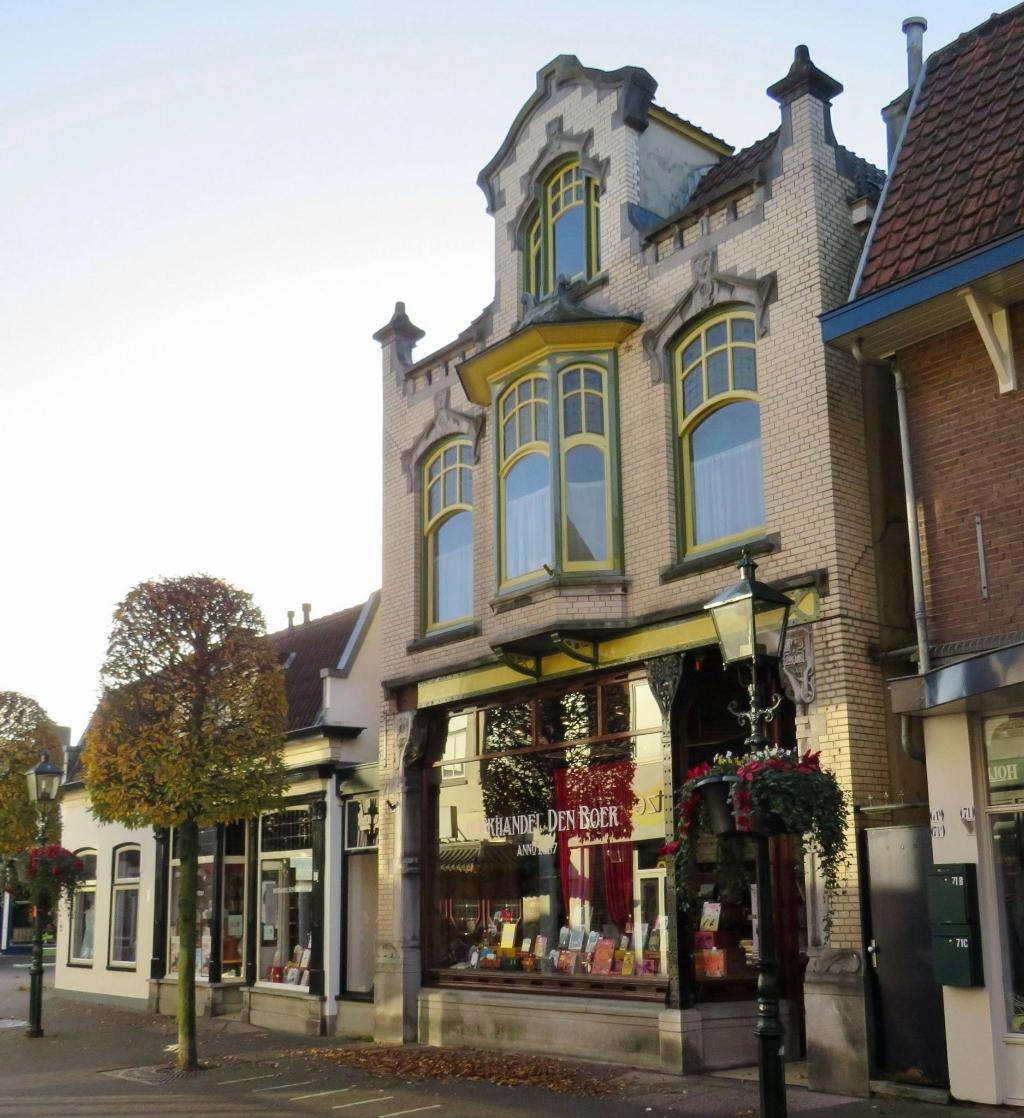 Boekhandel Den Boer BV (1887) (verbouwd/uitgebreid in 1905) -  Laanstraat 69  Onno Wijchers © BDU media