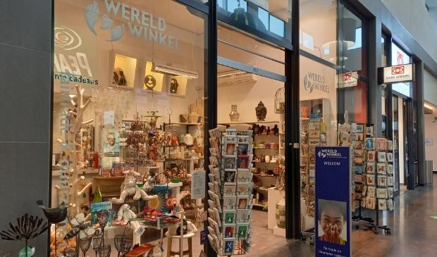 <p>De Wereldwinkel op Het Rond toen de winkel nog open was.</p>