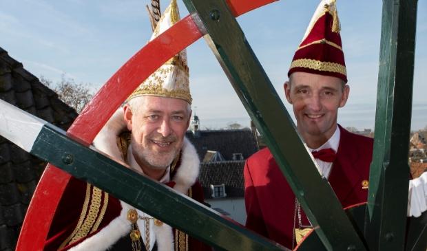 Prins Dick en Adjudant Peter blijven nog een jaar in functie