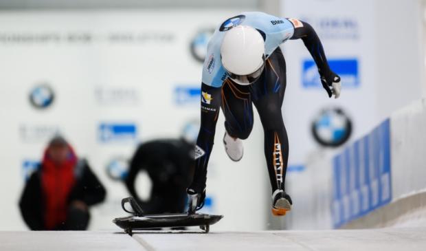 <p>Innovatie van de slee en de aerodynamica moeten van Bos in 2022 een medaillekandidaat maken op de Olympische Spelen.</p>