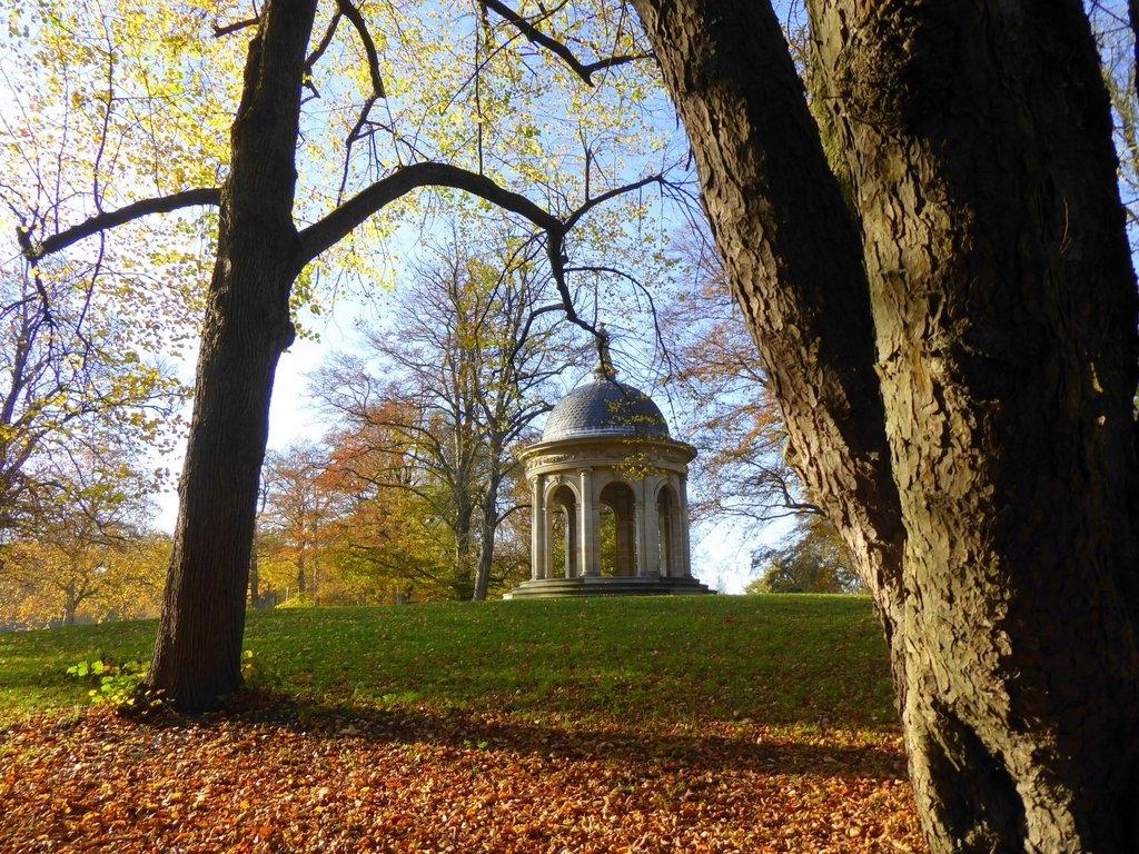 Koepeltje in park Beerschoten-Willinkshof Driebergen. Riet de Lang © BDU