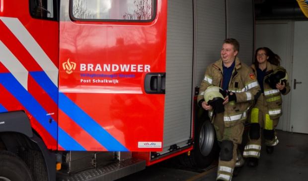 <p>Brandweer Schakwijk uitgebreid met twee manschappen </p>
